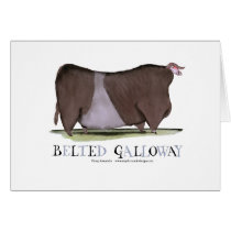 belted galloway, tony fernandes card