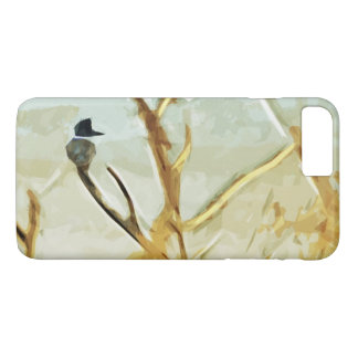 Belted Kingfisher at Rivers Edge iPhone 7 Plus Case