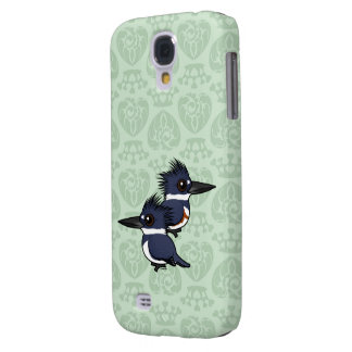 Belted Kingfisher pair Galaxy S4 Cover
