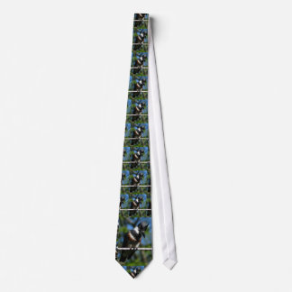 Belted Kingfisher tie
