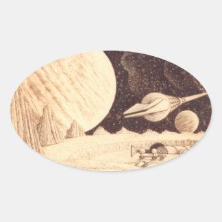 Belters Oval Sticker