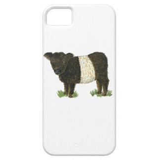 'Beltie' Belted Galloway iPhone SE/5/5s Case