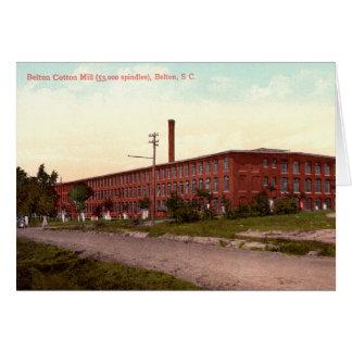 Belton South Carolina Belton Cotton Mill Cards