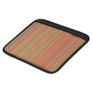 Belts colourful iPad sleeve