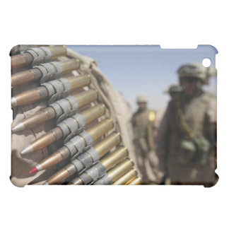 Belts of 50-caliber ammunition iPad mini case