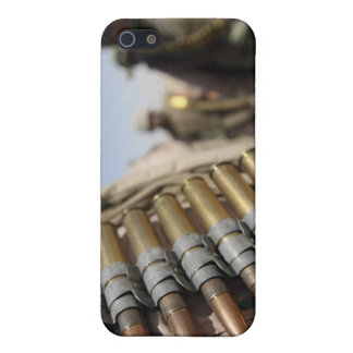 Belts of 50-caliber ammunition iPhone 5 cover