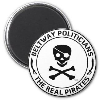 Beltway Pirates 2 Inch Round Magnet