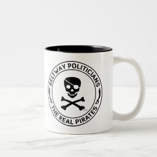 Beltway Pirates Two-Tone Coffee Mug