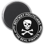 Beltway Pirates Refrigerator Magnet
