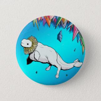 Beluga Lion Button