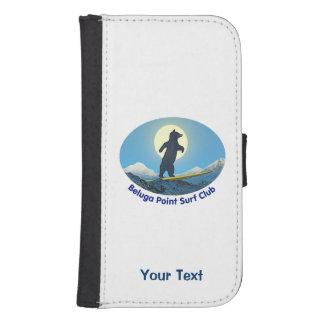 Beluga Point Surf Club Galaxy S4 Wallet Case