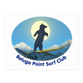 Beluga Point Surf Club Postcards