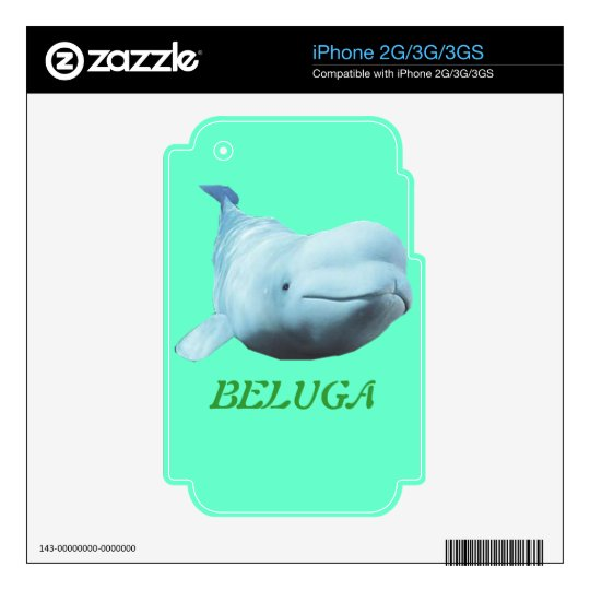 BELUGA SKIN SKINS FOR THE iPhone 3GS