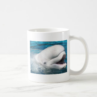 Beluga Smiles Coffee Mug