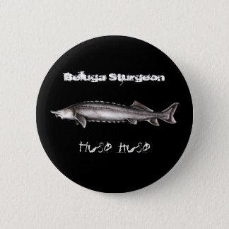 Beluga Sturgeon Button