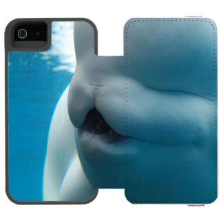 beluga-whale-27.jpg funda cartera para iPhone 5 watson