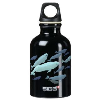 Beluga Whale Art Marine Life SIGG Traveler 0.3L Water Bottle