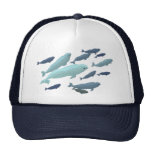 Beluga Whale Baseball Cap Blue Beluga Hats Caps