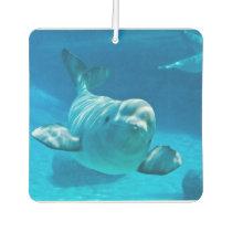 Beluga Whale Car Air Freshener