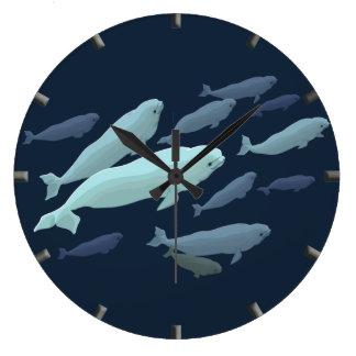 Beluga Whale Clock Beluga Whale Decor Whale Gifts