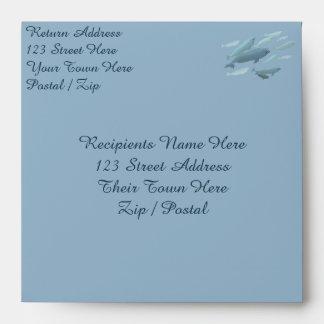 Beluga Whale Greeting Card Envelopes Personalized