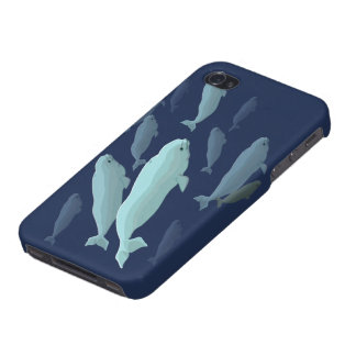 Beluga Whale iPhone 4 Case Beluga Whale Cases