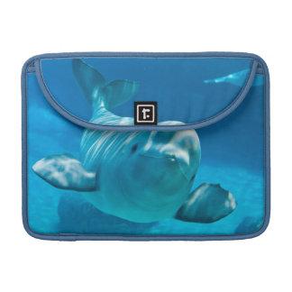 Beluga Whale Sleeve For MacBook Pro