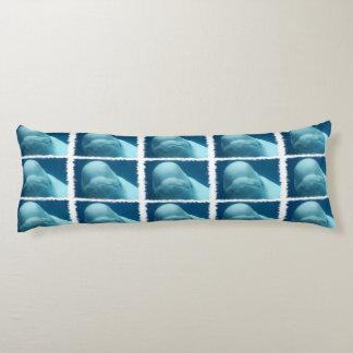 Beluga Whale Body Pillow