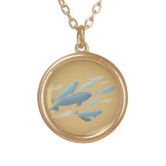 Beluga Whale Necklace Baby Beluga Whale Jewelry