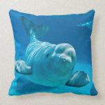 Beluga Whale Pillow