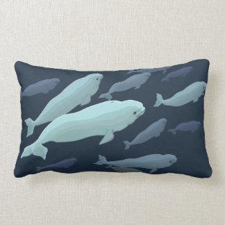 Beluga Whale Pillow Baby Beluga Whale Throw Pillow