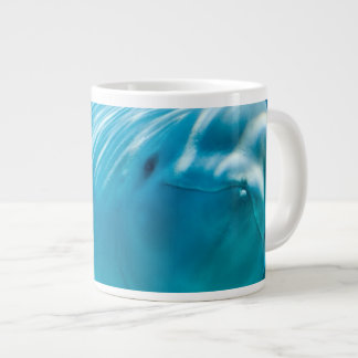 Beluga Whale 20 Oz Large Ceramic Coffee Mug