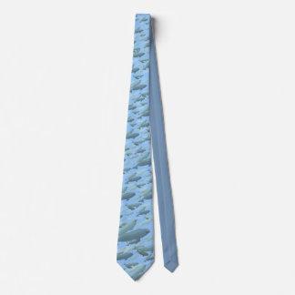 Beluga Whale Ties Blue Beluga Whales Neckties