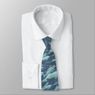 Beluga Whale Ties & Gifts Blue Whale Wildlife Ties