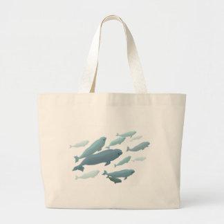 Beluga Whale Tote Bags & Blue Beluga Gifts