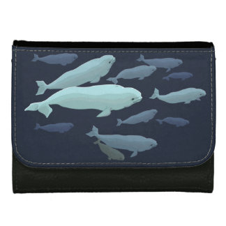 Beluga Whale Wallet White Baby Whale Wallets Gifts