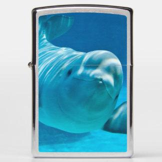 Beluga Whale Zippo Lighter
