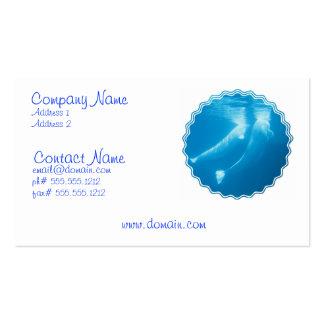 Beluga Whales Business Card
