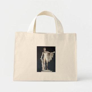 Belvedere Apollo Statue in Rome Mini Tote Bag