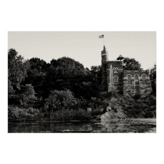 Belvedere Castle, Central Park NYC Poster
