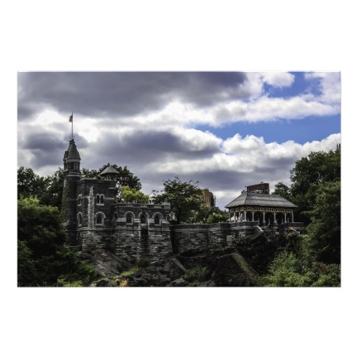 Belvedere Castle in Central Park, New York Photo Print