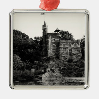 Belvedere Castle in Central Park, NYC Metal Ornament