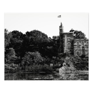 Belvedere Castle in Central Park, NYC Photo