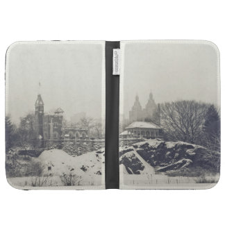 Belvedere Castle in the Winter in Central Park Case For Kindle
