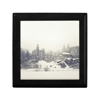 Belvedere Castle in the Winter in Central Park Gift Boxes