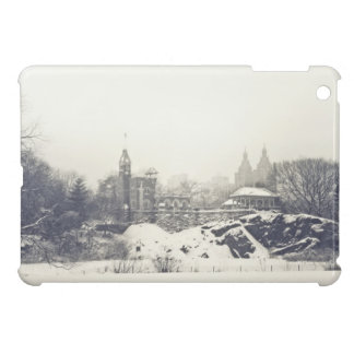 Belvedere Castle in the Winter in Central Park iPad Mini Cases