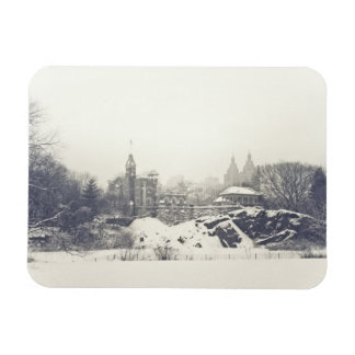 Belvedere Castle in the Winter in Central Park Magnet