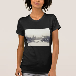 Belvedere Castle in the Winter in Central Park Shirts