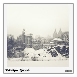 Belvedere Castle in the Winter in Central Park Wall Sticker
