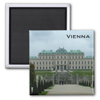 Belvedere Palace 2 Inch Square Magnet